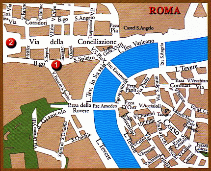 Shrines - Rome - How to find us