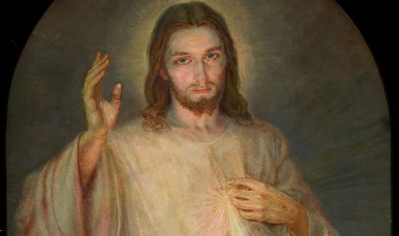 Cudowny obraz Jezusa Milosiernego z Sanktuarium w Krakowie