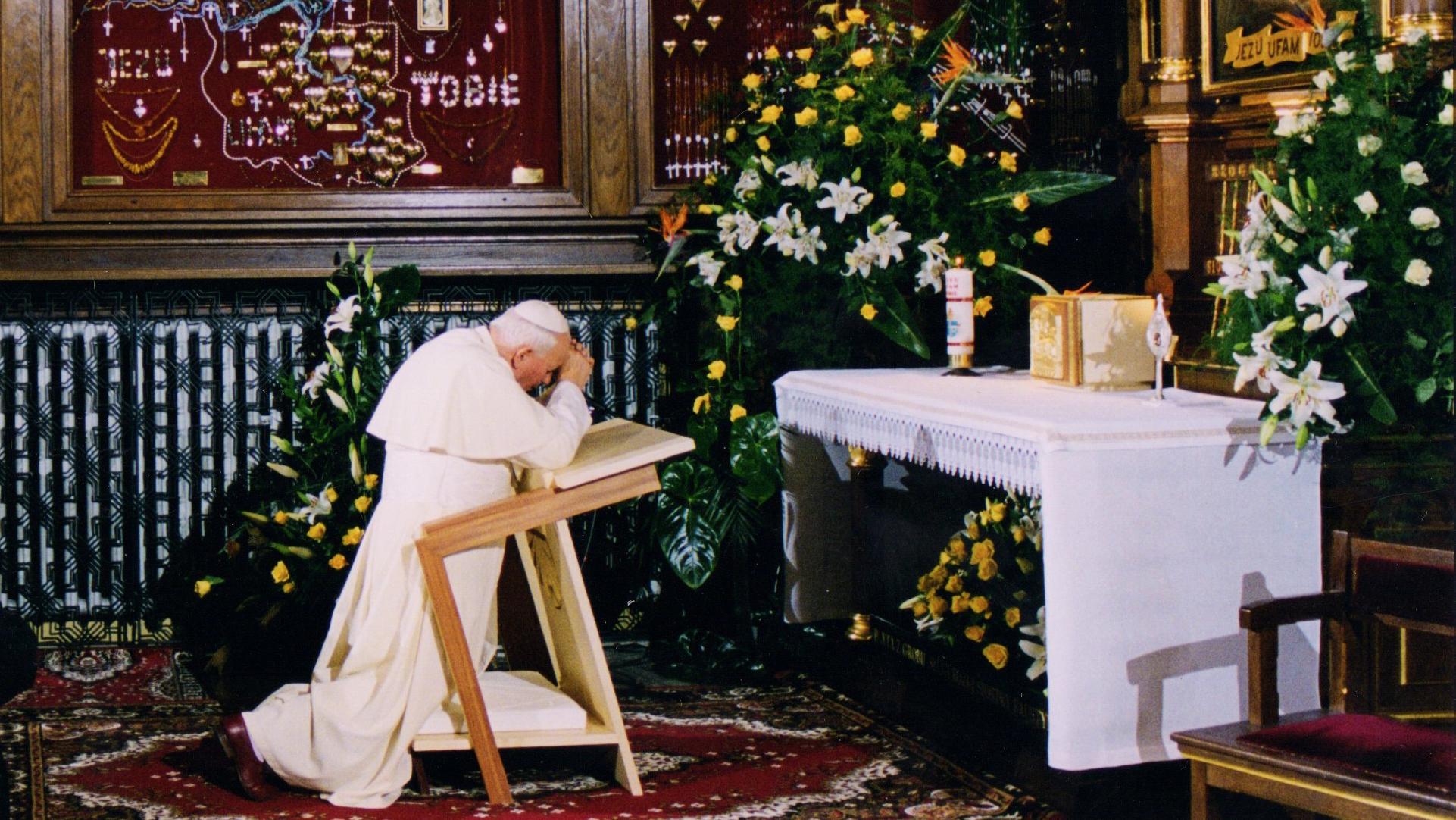 Przemówienie św. Jana Pawła II w łagiewnickim sanktuarium, 7 czerwca 1997